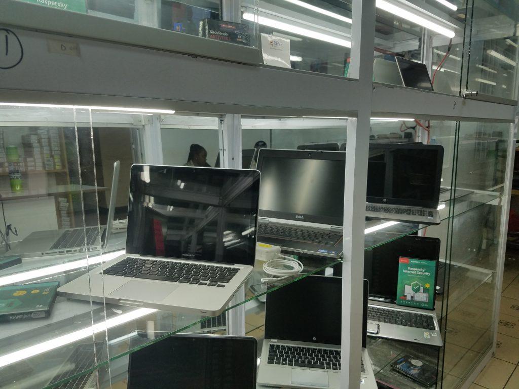 Refurbished,Ex-UK and new laptops,Computers and printers shop in Nairobi Kenya