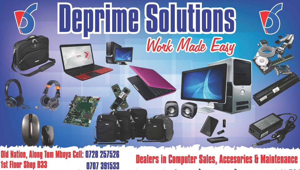 DEPRIME SOLUTIONS LTD,LAPTOP REPAIR