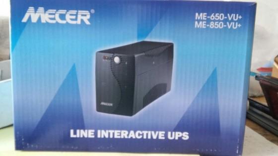 Image result for MECER 650VA Line Interactive UPS Black