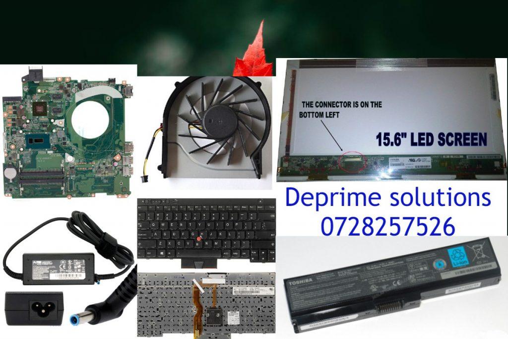 Laptop Screen-Battery-charger-keyboard-casing replacement and repair In Nairobi Kenya 0700474550